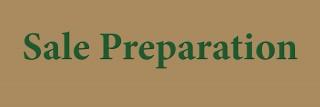 Sale Preparation